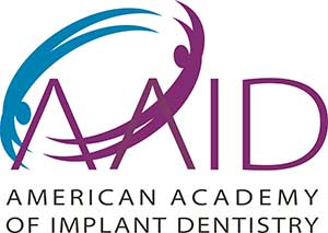 American Academy of Implant Dentistry Logo Mountlake Terrace implant dentist